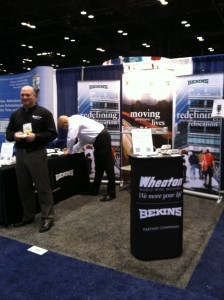 Bekins booth at SHRM