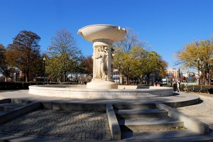 The Dupont Circle Fountain in Washington D.C.