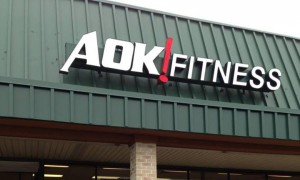 the outside of AOK! Fitness