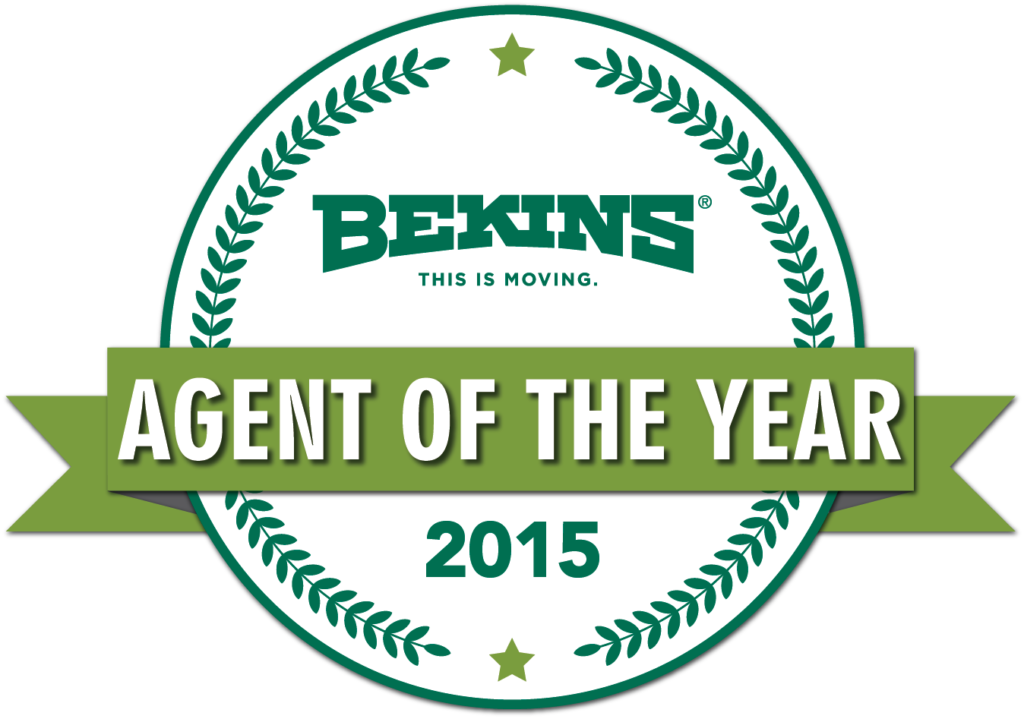 bekins agent of the year 2015