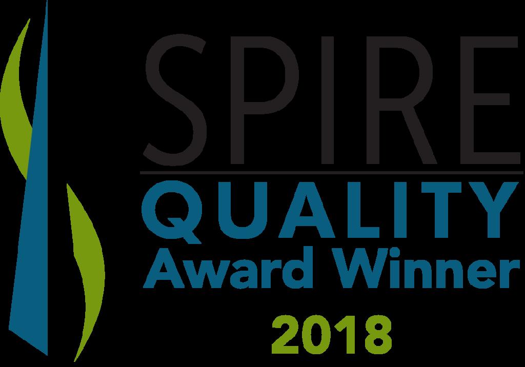 spire award winner 2018
