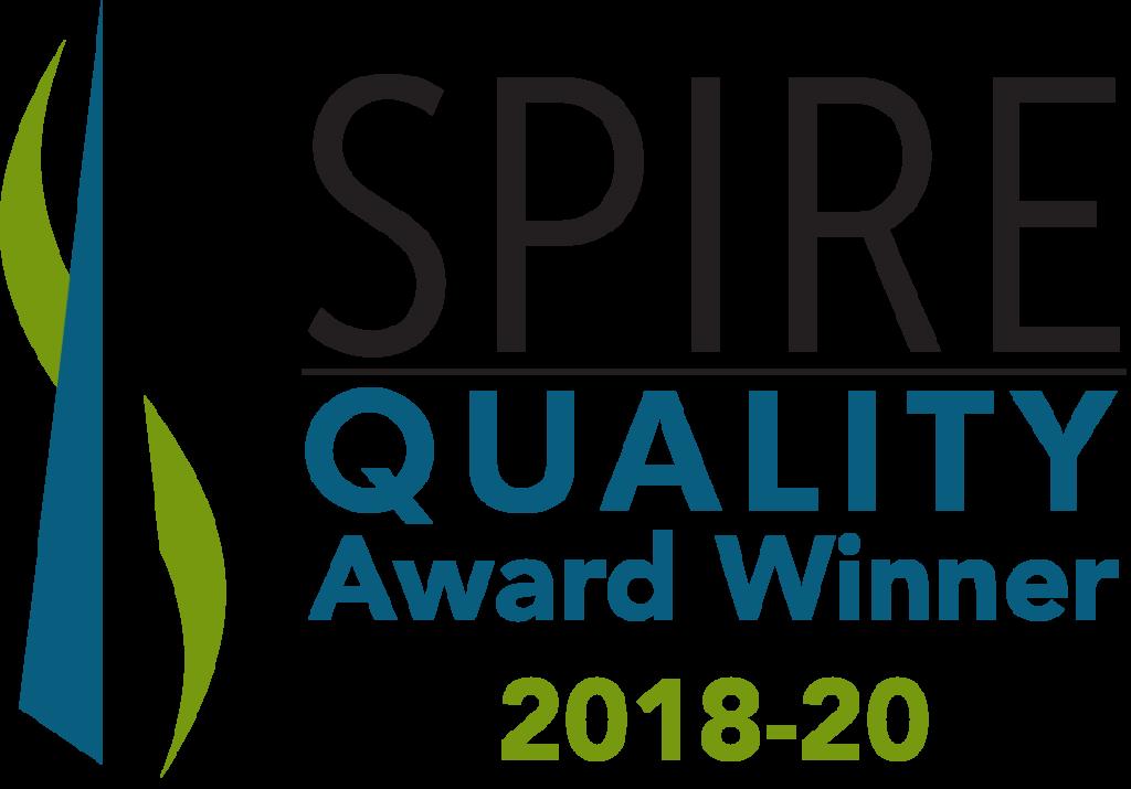 spire award winner 2018-2020