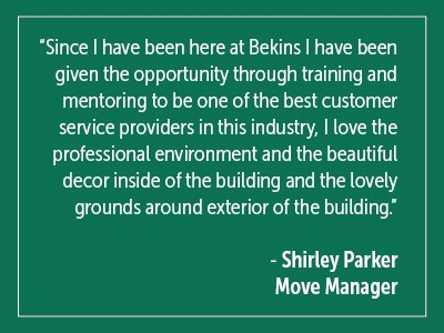 Shirley Parker Quote