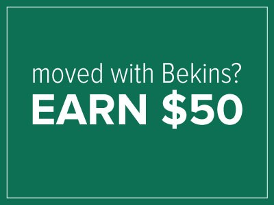 Referral Program Bekins