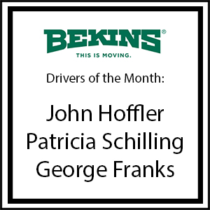 Bekins Drivers of the Month - March 2017
