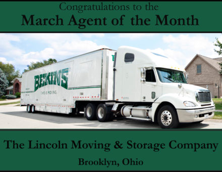 Agent of the Month - The Lincoln Moving & Storage