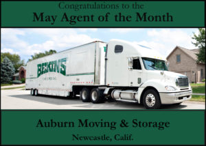 Auburn Moving & Storage - May Agent of the Month