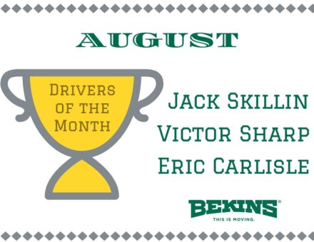 Driver of the Month Bekins