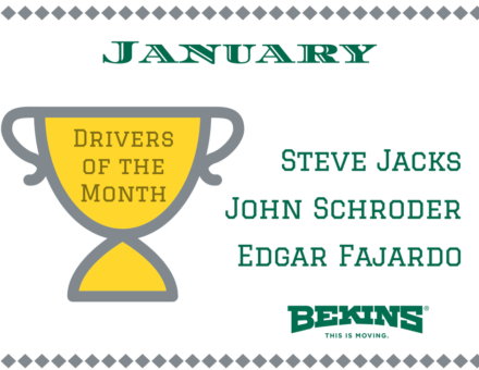 Drivers of the Month
