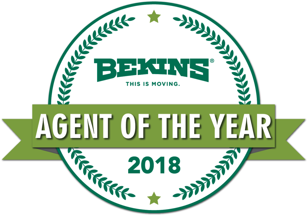 bekins agent of the year 2018