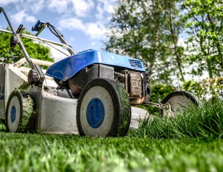 storing your lawn equipment