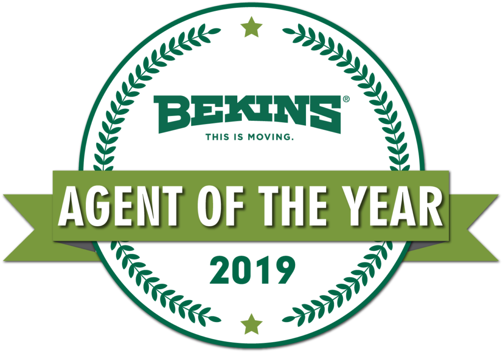 bekins agent of the year 2019